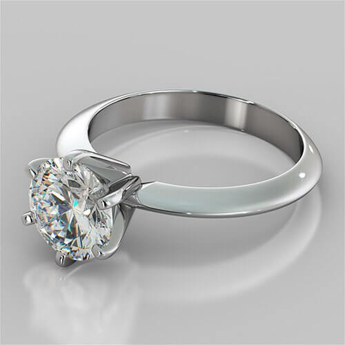 Tiffany Style Solitaires